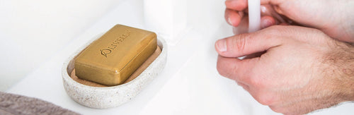 Bar Soap from Purified Virgin Olive Oil