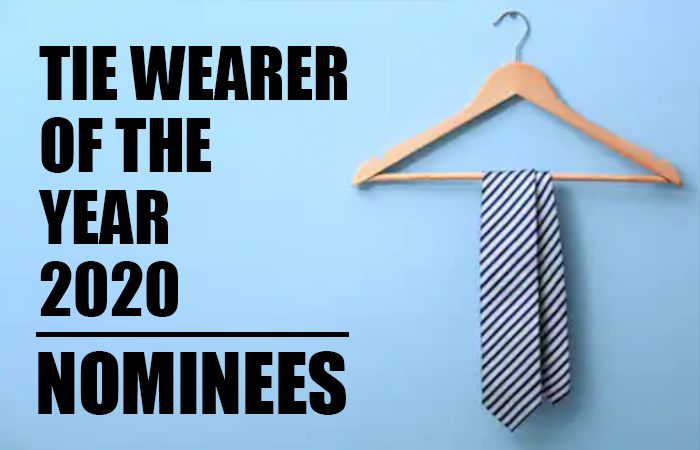 Tie Wearer of the Year 2020 Nominees