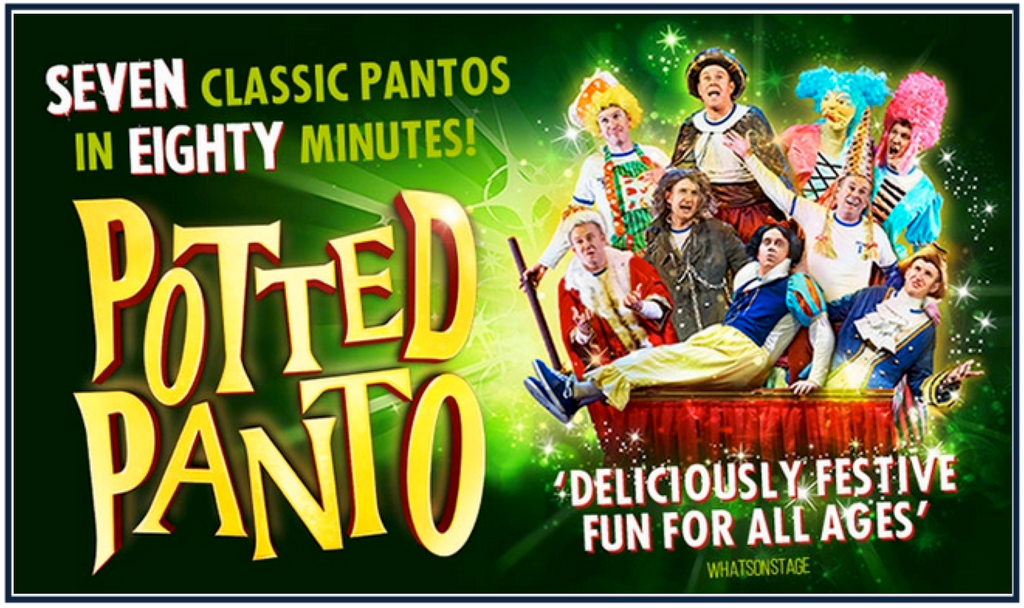 Panto is Back! Ohh.. Yes.. It.. Is!  Potted Panto opens at The Garrick Theatre