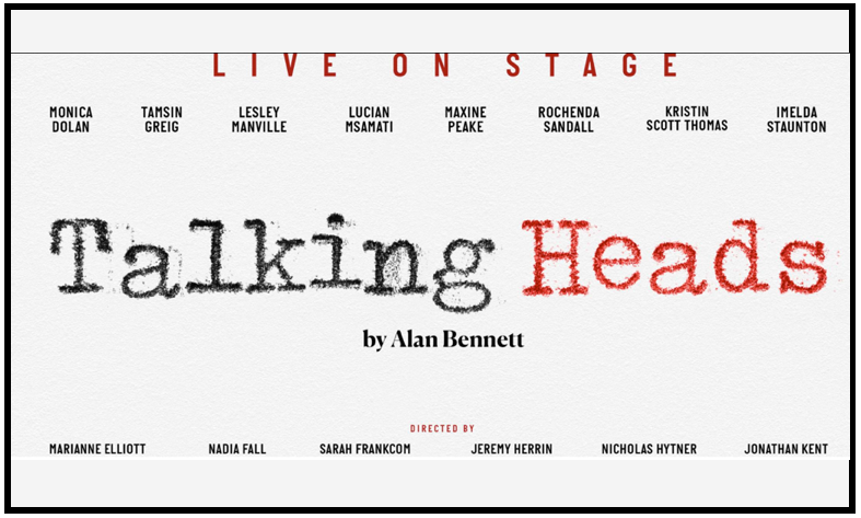 "Sparks supplies lighting hire for the Bridge Theatre ""Talking Heads"" season"