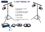 4 Light Fresnel Kit
