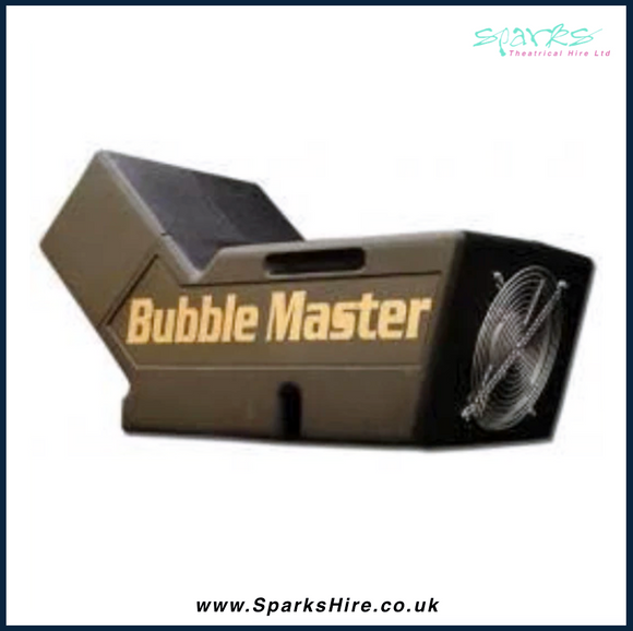 BUBBLE MASTER HIGH OUTPUT BUBBLE MACHINE