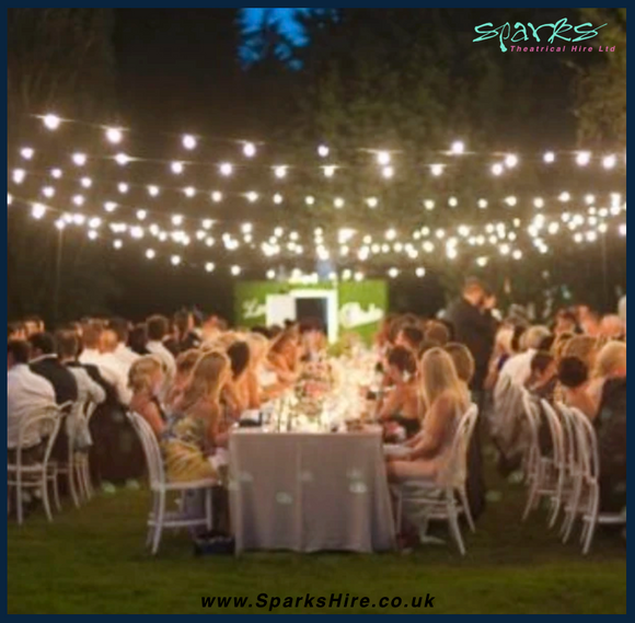 Festoon Wedding Party Lighting Kits Hire London