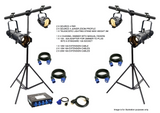 PROFILES AND PARS LIGHTING KIT