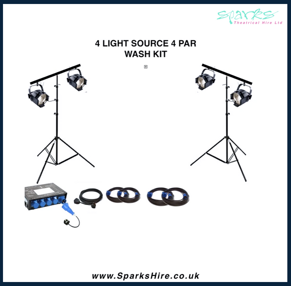 PAR WASH LIGHTING KIT