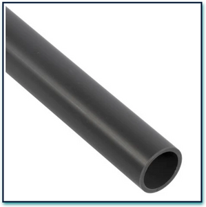 BLACK ALUMINIUM SCAFF TUBE 48MM