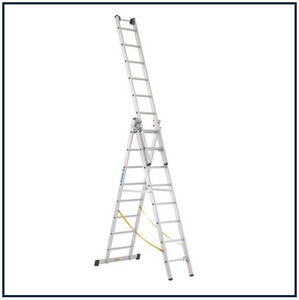 7 RUNG ZARGES SKYMASTER COMBINATION LADDERS