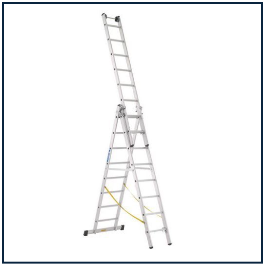 8 RUNG ZARGES SKYMASTER COMBINATION LADDERS