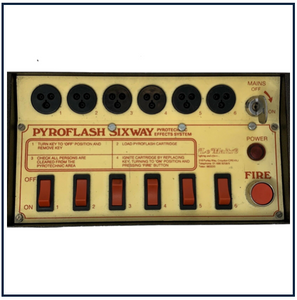 6 WAY PYROFLASH CONTROLLER