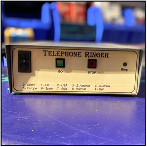 TELEPHONE RING GENERATOR SPARKS THEATRICAL HIRE