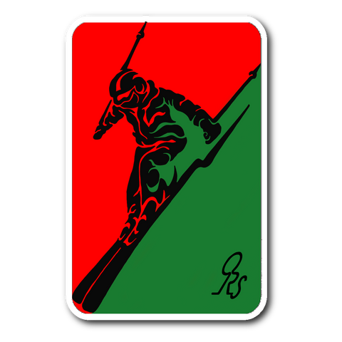 ORS SKIING STICKER 2 - ONE RUN SPORTS