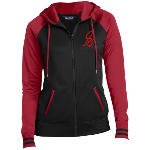 Ladies' Sport-Full-Zip Hooded ORS Jacket - ONE RUN SPORTS