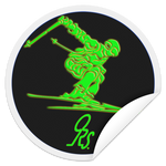 ORS SKI Sticker - ONE RUN SPORTS