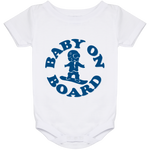 Baby On Board Blue Onesie 24 Month - ONE RUN SPORTS