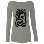 Ladies' Triblend LS Scoop T-Shirt