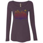 Ladies' Triblend LS Scoop