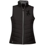 Black ORS Ladies Quilted Vest - ONE RUN SPORTS