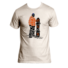 100% COTTON, Original Snowboarding T-shirts, Free Shipping.