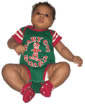 Red Green Baby On Board Onesie