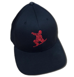 CRISPY CAP 1 (Red Logo) - ONE RUN SPORTS