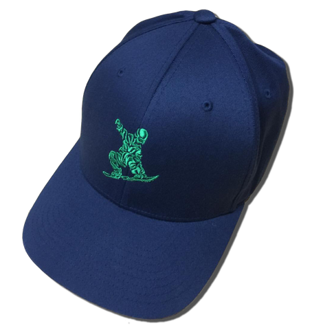 CRISPY CAP 3 (Green Logo) - ONE RUN SPORTS