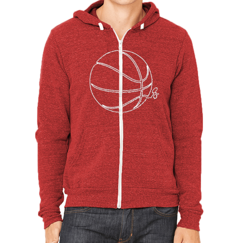 Basketball ORS Zip Hoodie - ONE RUN SPORTS