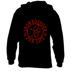 FOR LIFE HOODIE_RED