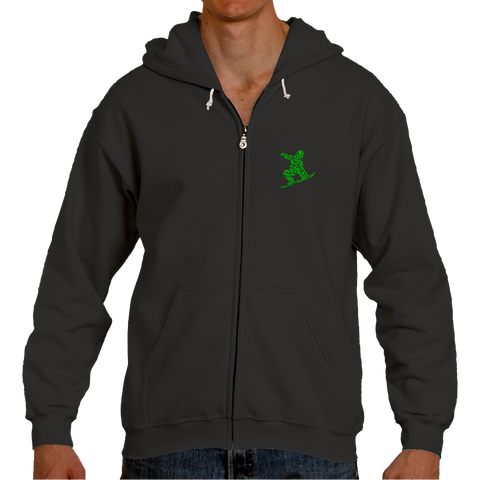 FOR LIFE HOODIE_GREEN