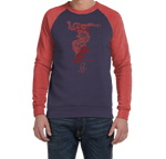 ORS SWEATERSHIRT RED - ONE RUN SPORTS