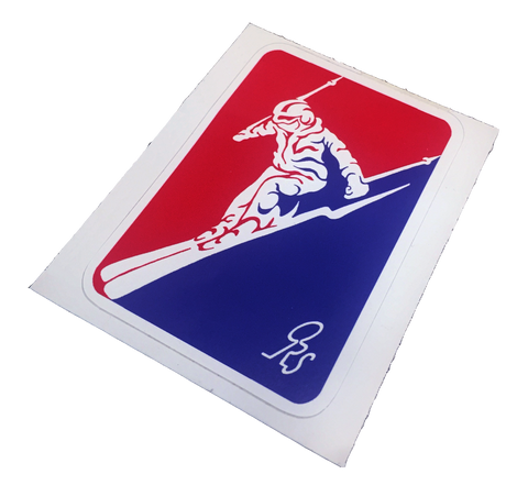 ORS SKIING STICKER 1