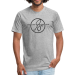 ONE RUN Fitted T-Shirt - heather gray