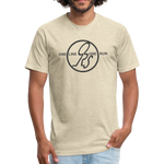 ONE RUN Fitted T-Shirt - heather cream