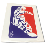 SHREDDER Decal - ONE RUN SPORTS