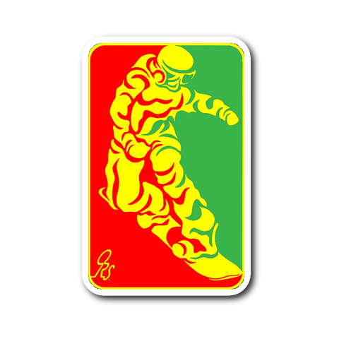 SHREDDER Decal 2 - ONE RUN SPORTS