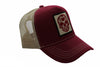GORRA MIXTO ROYAL TRUCKER CALAVERA - Vino