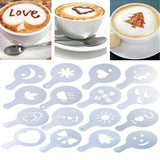 Quick Coffee Art Stencils