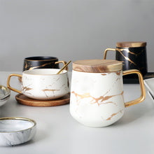 Load image into Gallery viewer, Marble Ceramic Coffee Cup