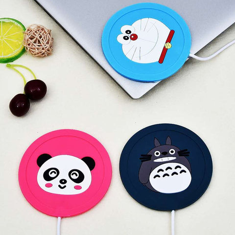 Cute Cartoons' USB Silicone Coffee Heater