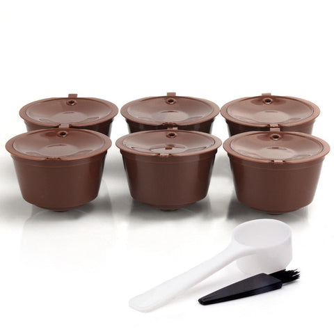 Refillable Coffee Capsules For Dolce Gusto (6 PCS)