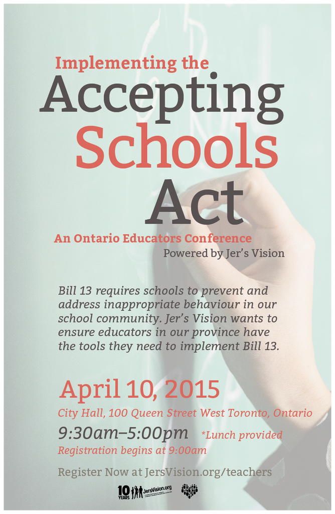 Implementing the Accepting Schools Act