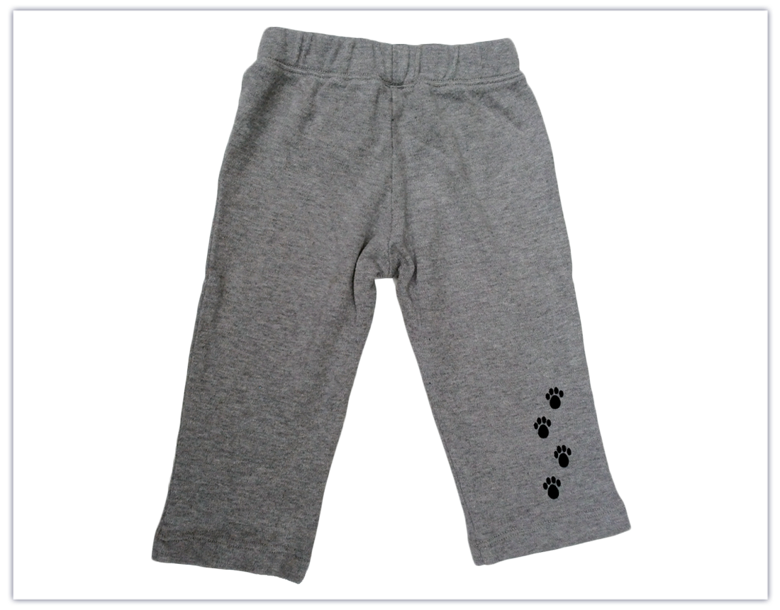 "Baby: ""Angel Dog"" Organic Yoga Pants"