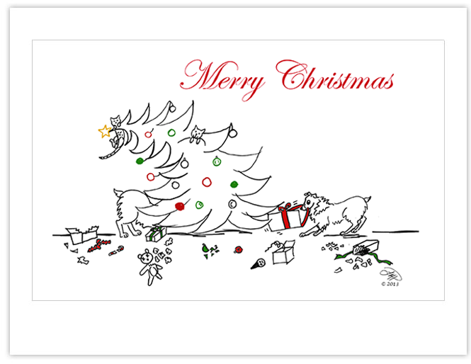 Christmas Cards: Christmas Debacle!  (12)