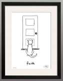 Framed Print: Faith