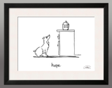 Framed Print: Hope