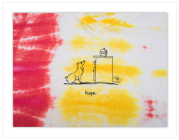 XL:  Hope, Hand Dyed