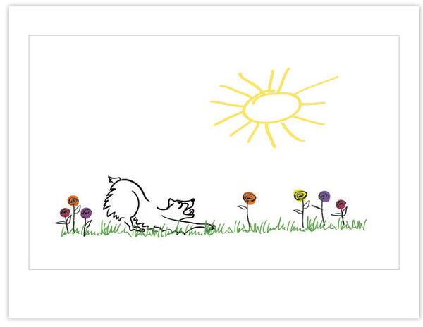 Note Card: Sunshine (pack of 12)