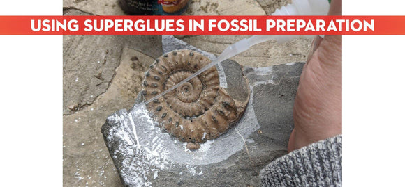 Superglues in Fossil Preparation - ZOIC PalaeoTech