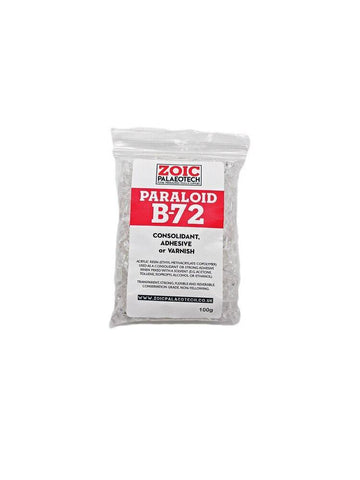 Paraloid B72 acrylic resin conservation fossils archaeology museums