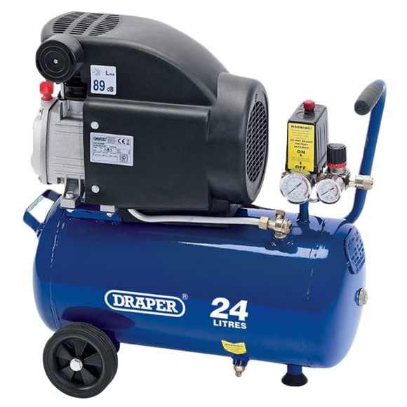 draper 24l air compressor oiled Draper 24l Air Compressor (1.5KW 2HP) DA25/207 fossil preparation pneumatic