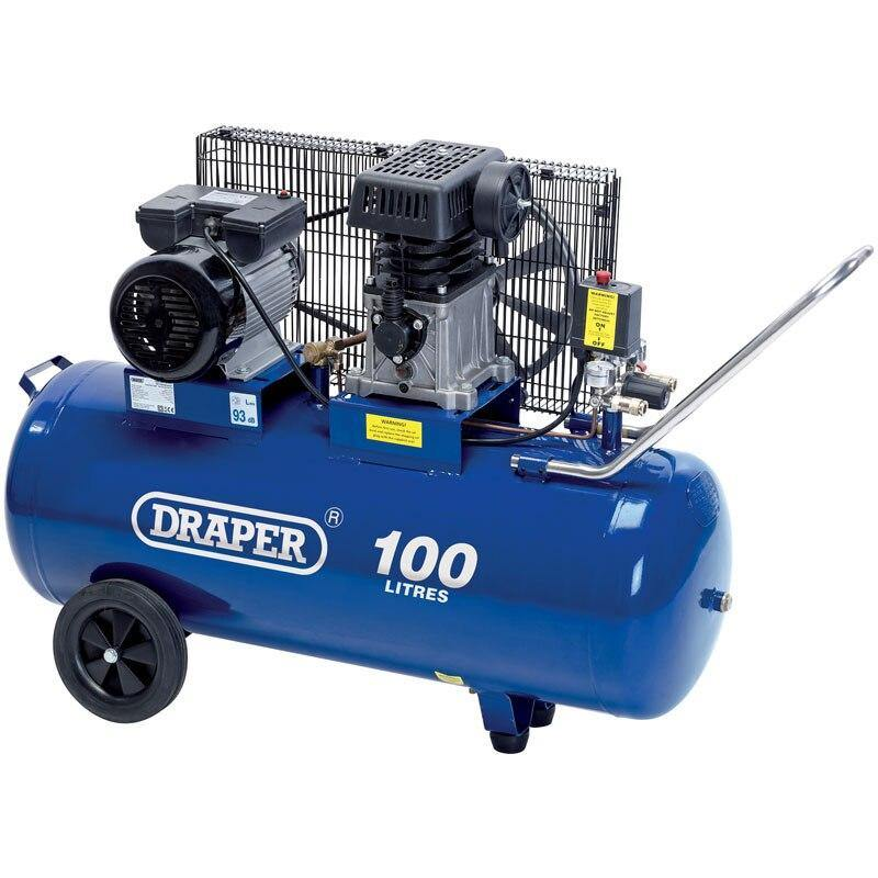 100L Belt-Driven Air Compressor (2.2kW)